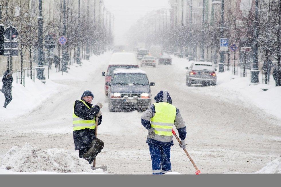 Žiema (nuotr. Fotodiena.lt/Audriaus Bagdono)
