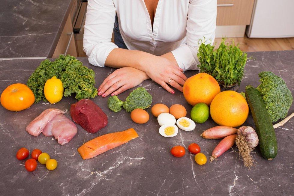 Dieta (nuotr. Fotolia.com)
