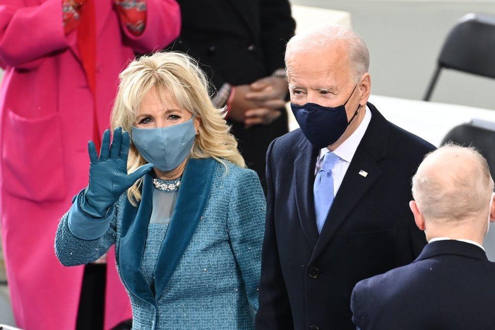 Bidenas prisaikdintas 46-uoju JAV prezidentu (nuotr. SCANPIX)