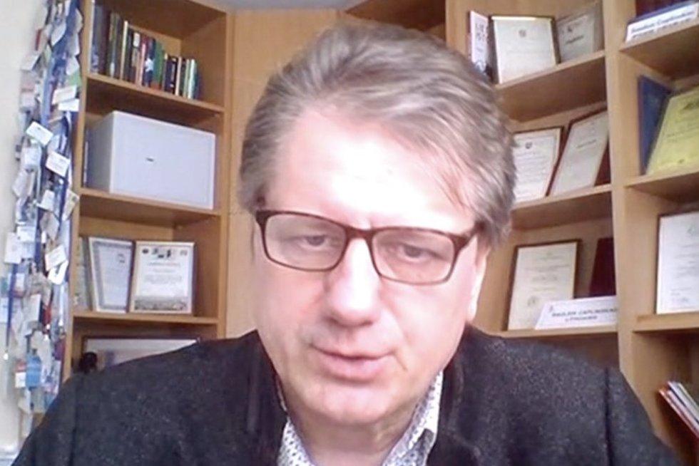 S. Čaplinskas (nuotr. stop kadras)