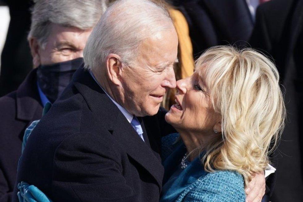 Joe Biden su žmona (nuotr. SCANPIX)