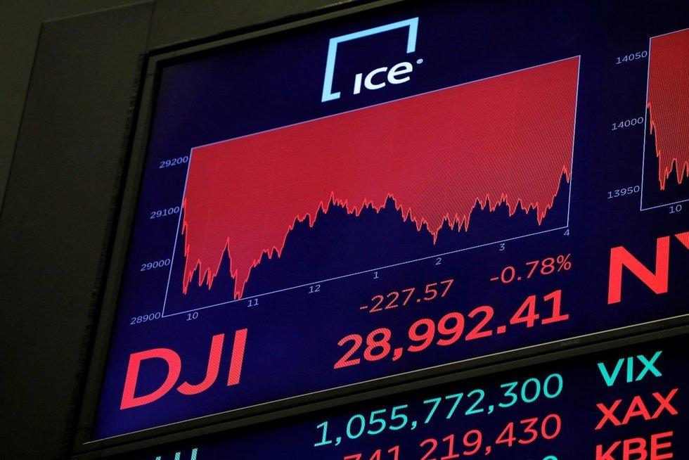 Akcijų birža (nuotr. SCANPIX)