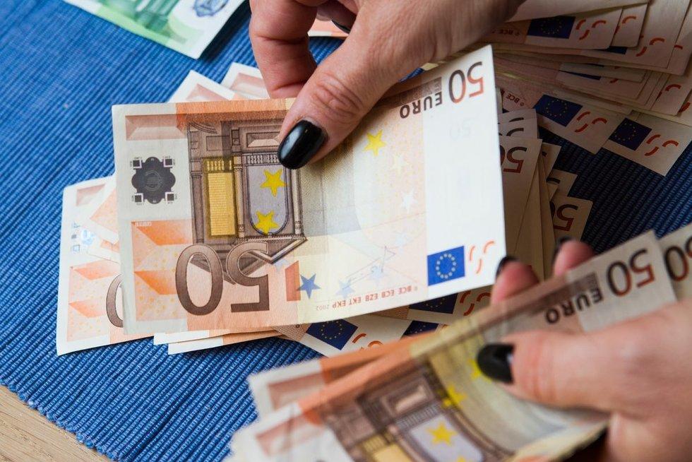 Pinigai (tv3.lt koliažas)