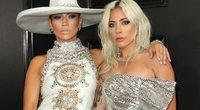Jennifer Lopez ir Lady Gaga (nuotr. SCANPIX)