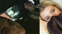Justinas Bieberis ir Sofia Richie (nuotr. Instagram)