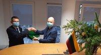 SAM darbą pradeda naujasis ministras A. Dulkys  (nuotr. facebook.com)