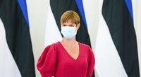 Estijos prezidentė Kersti Kaljulaid (nuotr. Fotodiena/Justino Auškelio)