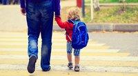 Vaikas eina į mokyklą (nuotr. Fotolia.com)