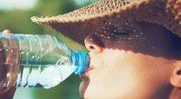 Gėrimas karštą vasaros dieną (nuotr. Shutterstock.com)