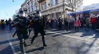 Rusijoje prasidėjus protestams sulaikyta daugybė Navalno šalininkų (nuotr. SCANPIX)