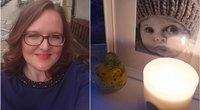 """Lindsey Cunniff apie """"tamsų šešėlį"""" sužinojo 20 nėštumo savaitės ultragarso tyrimo metu (nuotr. facebook.com)"""