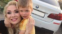 """Natalija Bunkė ir jos sūnus Kristupas (nuotr. asmeninio albumo (""""Facebook"""")"""