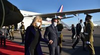 Į Lietuvą atvyko Prancūzijos prezidentas Macronas (nuotr. Jurijus Azanovas)