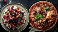 Savaitgalio pietums – itališka pica ir prancūziškas pyragas (nuotr. asm. archyvo)