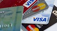 "Kortelė ""MasterCard"" (nuotr. SCANPIX)"