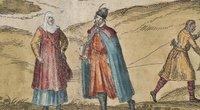 Bajorai ir valstiečiai, Brauno atlasas, XVI a. (nuotr. asm. archyvo)