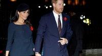 Meghan Markle ir princas Harry (nuotr. Vida Press)