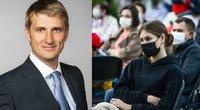 Valstybinės vaistų kontrolės vadovas Gytis Andriulionis apie vakciną nuo koronaviruso (tv3.lt fotomontažas)