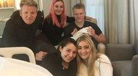 Instagram.com nuotr. / Gordonas Ramsay su šeima