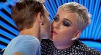 """""""American Idol"""" laidos akimirka (nuotr. iš vaizdo įrašo)"""