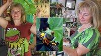 Reda galėtų pasididžiuoti didžiausia varlių kolekcija Lietuvoje (tv3.lt fotomontažas)