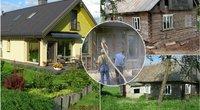 Lietuvaičiai iš senos trobos sukūrė įspūdingą namą  (nuotr. asm. archyvo)