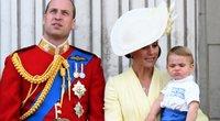 Princas Williamas ir Kate Middleton su vaikais (nuotr. SCANPIX)