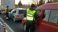 Daugiau nei 800-ams vairuotojų ryte teko pasitikrinti blaivumą (nuotr. Policijos)