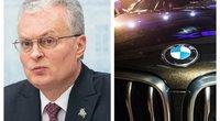 Nausėda žvalgosi investuotojų: pakvietė BMW plėsti verslą Lietuvoje (tv3.lt koliažas)