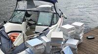 Muitininkams įkliuvo jau antras kontrabandininkų kateris per savaitę