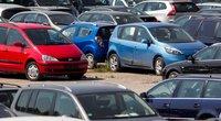 Parduodami automobiliai ir jų tikrinimas (Kęstutis Vanagas/Fotobankas)