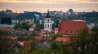 Lietuvos sostinė Vilnius (nuotr. Fotodiena/Justino Auškelio)