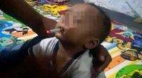 9 mėnesių sūnui tėtis pridegė cigaretę (nuotr. facebook.com)