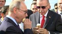 Recep Tayyip Erdogan ir Vladimiras Putinas
