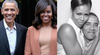 Barackas Obama su žmona Michelle (nuotr. SCANPIX) tv3.lt fotomontažas