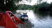 Išskirtinis pokalbis su Aurimu: keliautojas pasiryžo baidare įveikti Dunojų (nuotr. stop kadras)