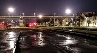 Šokas Kybartuose: muitininkė nugriuvo tarp bėgių, virš jos pravažiavo traukinys (Romano Žiburio nuotraukos)