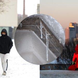 Po rekordiškos šilumos – orų permainos: savaitgalį į Lietuvą sugrįžta šaltukas