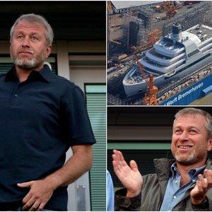 Rusų milijardierius Abramovičius įsigijo pirkinį už beveik 500 milijonų eurų: tokios jachtos pasaulis dar nematė