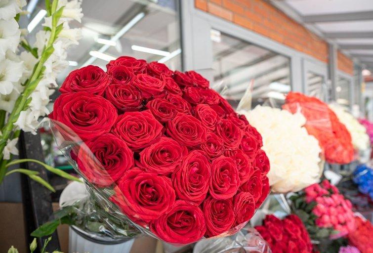 Gėlių turgelis Fotodiena/Arnas Strumila