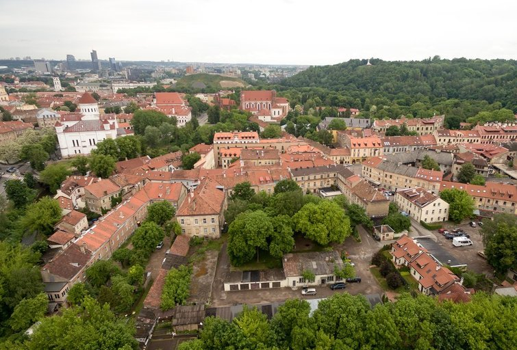Vilniaus senamiestis, Paupys ir Užupis (nuotr. TV3)