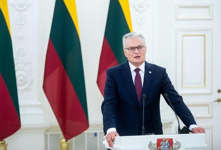 Į Lietuvą atvyko Prancūzijos prezidentas Macronas (Irmantas Gelūnas/Fotobankas)