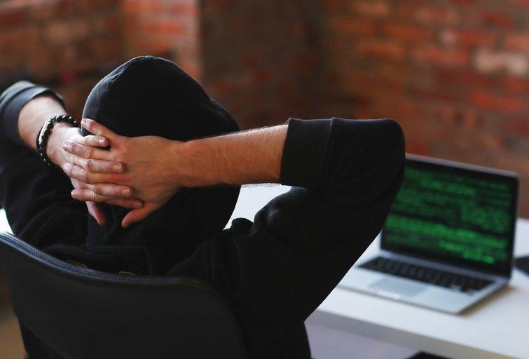 Kibernetinė ataka (nuotr. 123rf.com)