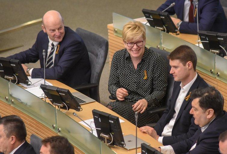 Prasidėjo Seimo pavasario sesija (Fotodiena nuotr.)