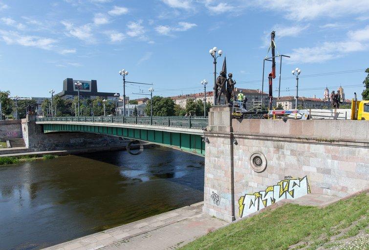 Žaliasis tiltas nuotr. Broniaus Jablonsko