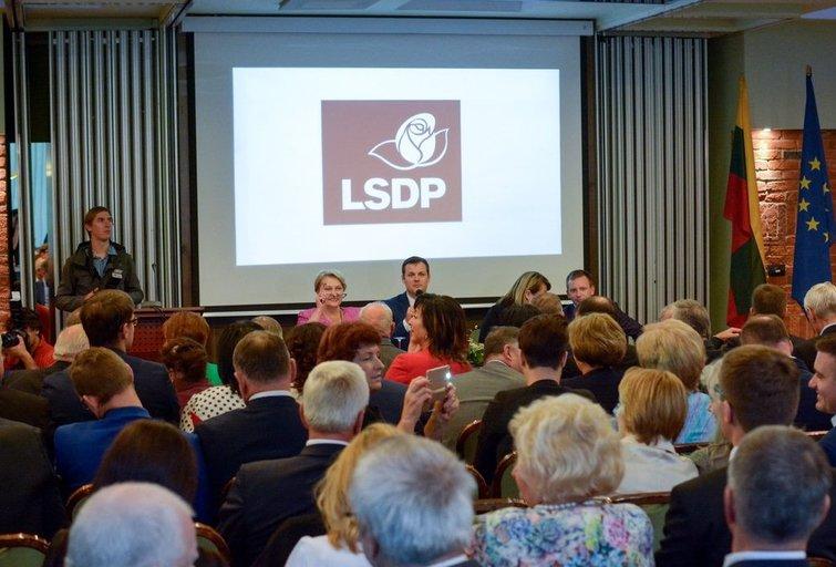 Socialdemokratai (nuotr. Fotodiena.lt)