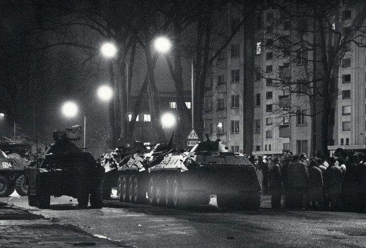 1991-ųjų metų sausio 13-oji (A. Žižiūno nuotr.) (nuotr. LCVA)