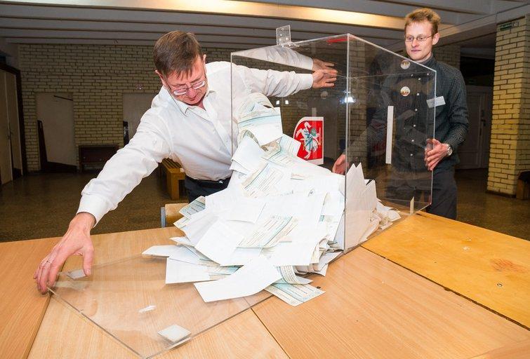 Seimo rinkimai 2016. Antras turas (nuotr. Eimanto Genio)