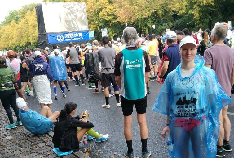 Aušra Garunkšnytė dalyvavo Berlyno maratone. (nuotr. asm. archyvo)