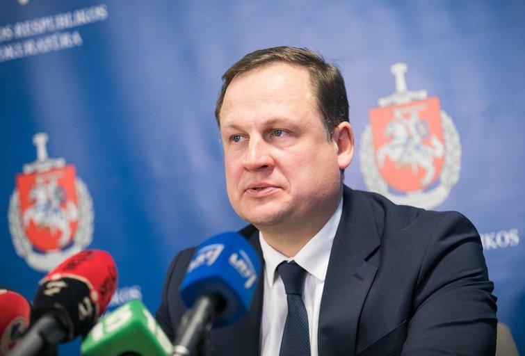 Evaldas Pašilis (Irmantas Gelūnas/Fotobankas)